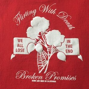 Broken Promises Cropped Muscle Tee